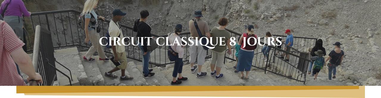 CIRCUIT CLASSIQUE 8 JOURS